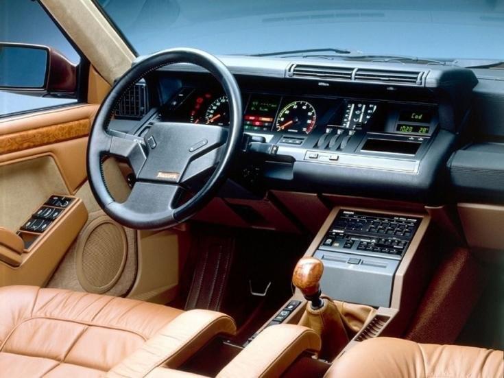 Renault 25 beltér