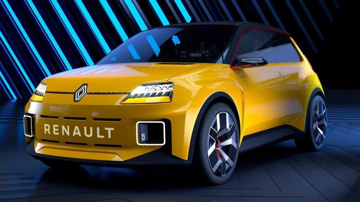 Új Renault 5 szemből