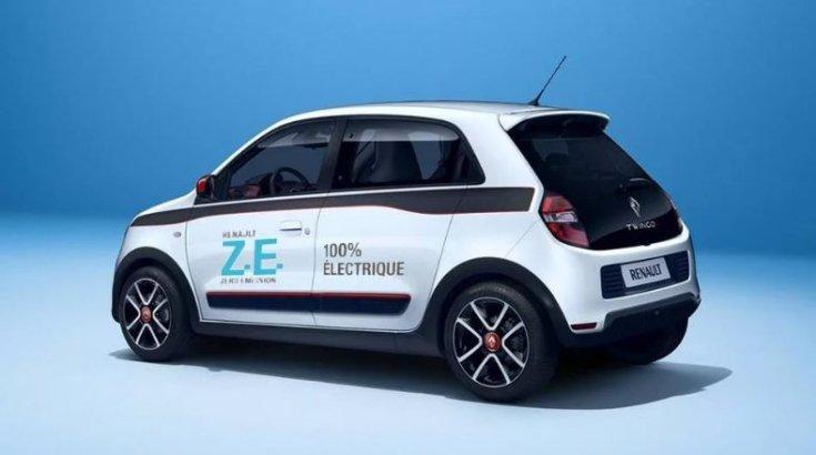 2020-as Renault Twingo ZE oldalról