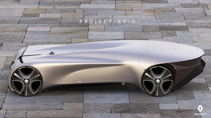 Renault XY-2 Concept szemből