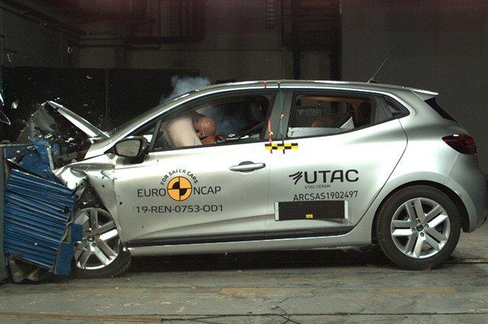 Renault Clio Euro NCAP törésteszt