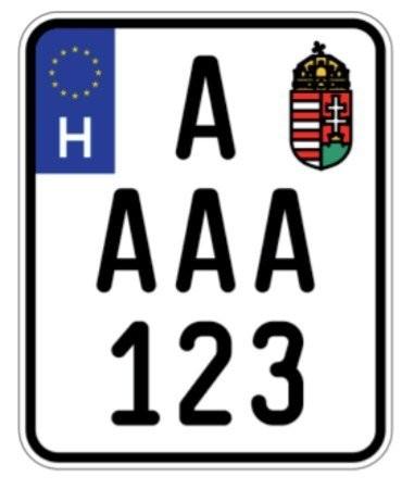 Új magyar rendszám