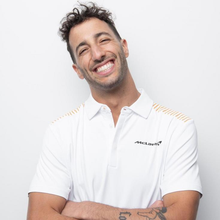 Daniel Ricciardo már McLaren szerelésben