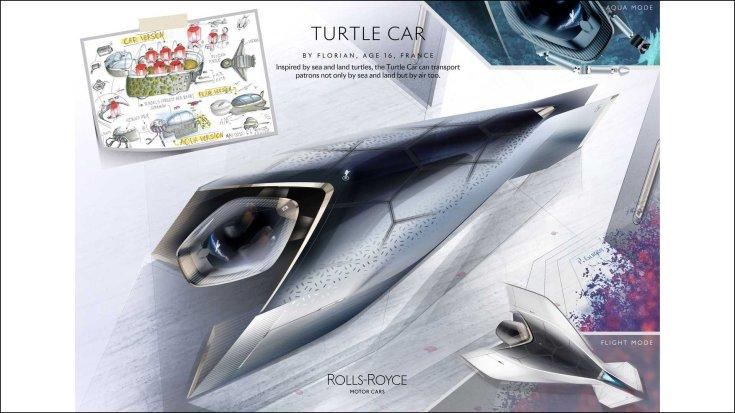Rolls-Royce Turtle Car