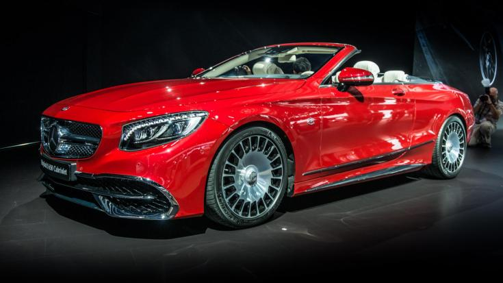 2017 Mercedes-Benz S-Class Maybach S 650 Cabriolet