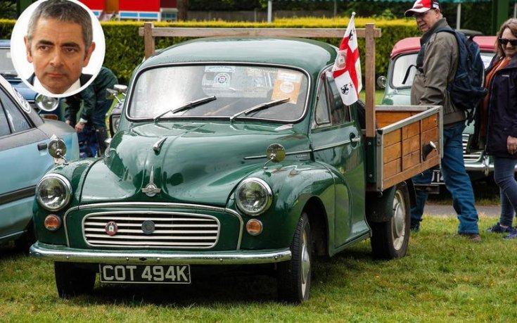 Rowan Attkinson Morris Minor Pickup