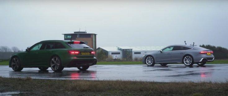 Audi RS6 Avant és Audi RS7 Sportback egy képen