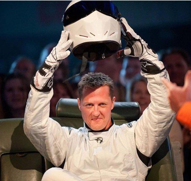 Michael Schumacher mint A Stig a Top Gearben