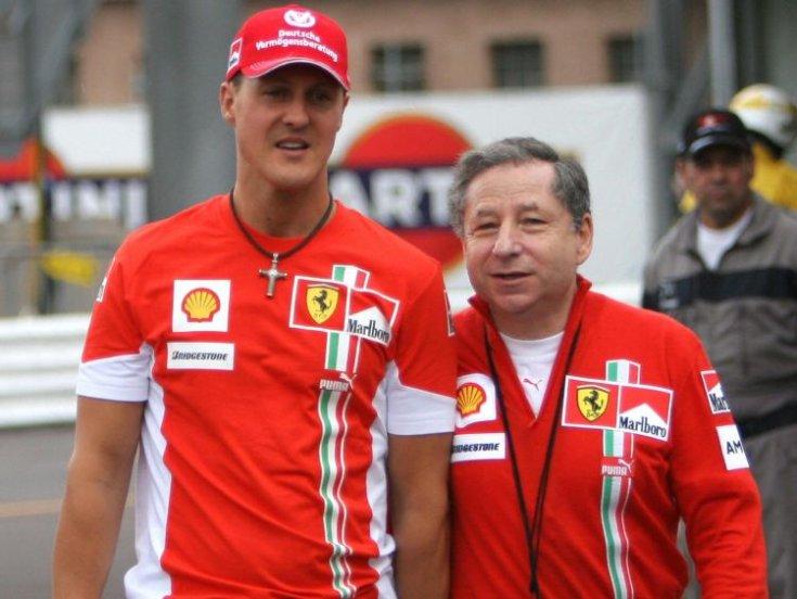 Jean Todt elmondása szerint Schumacher még nem adta fel a küzdelmet