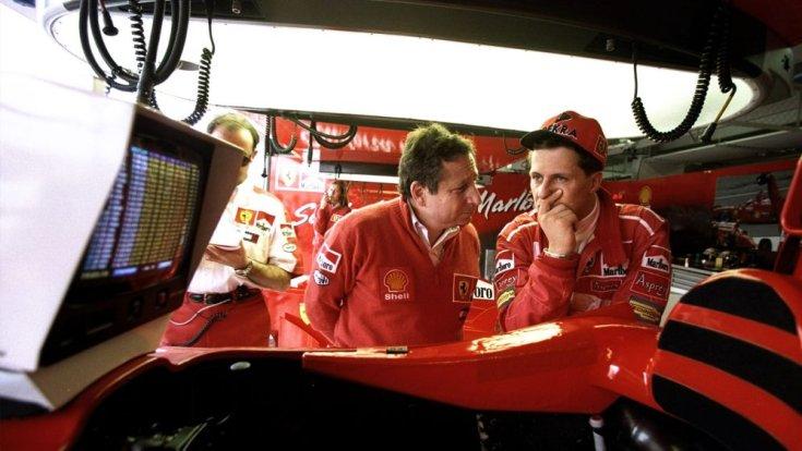 Jean Todt és Michael Schumacher