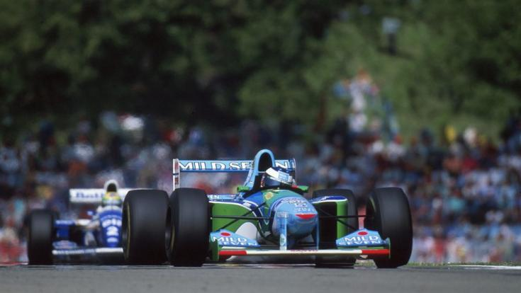 Schumacher a Benettonban