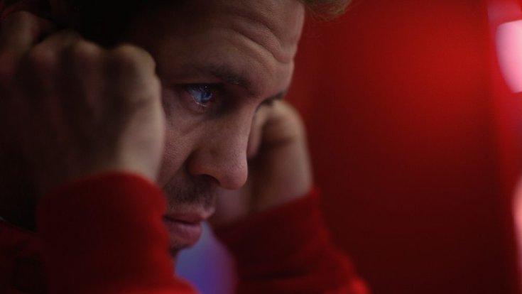 Sebastian Vettel még a Ferrari szerelésében oldalról