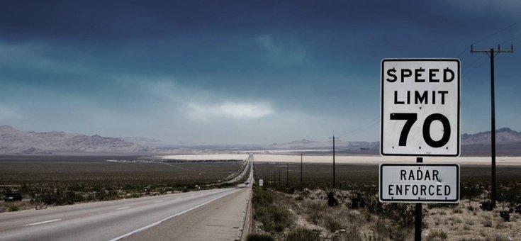 sebességkorlátozás az Egyesült Államokban