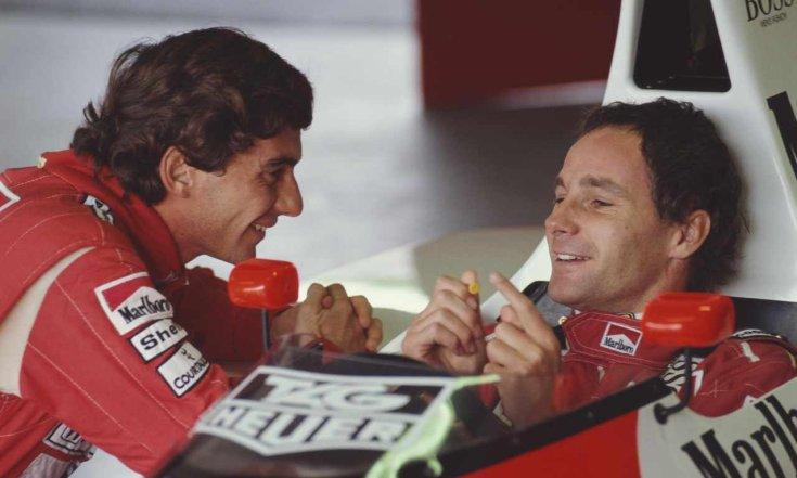 Senna és Berger