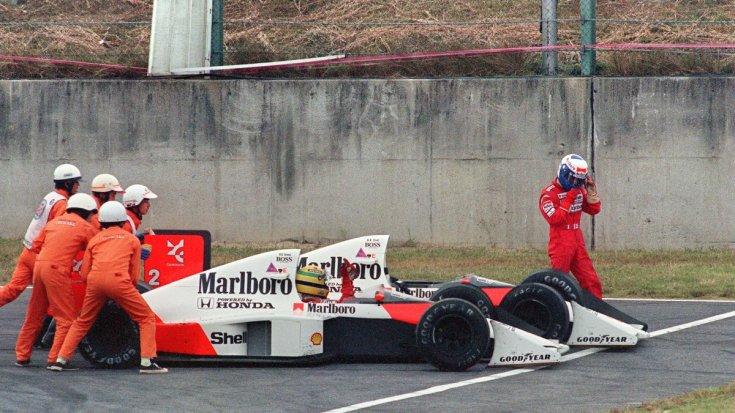 Senna és Prost autója