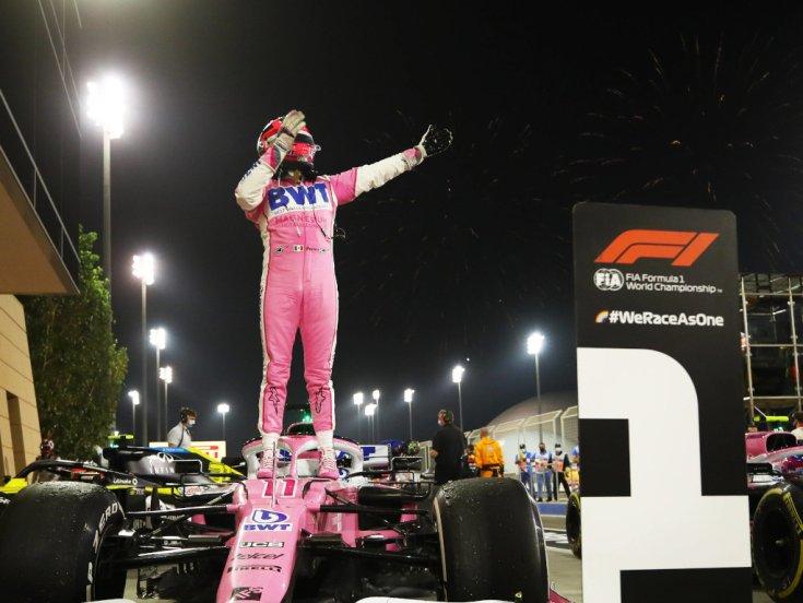Sergio Perez győzelme Bahreinben