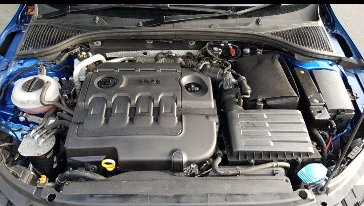 Skoda CR TDI dízelmotor