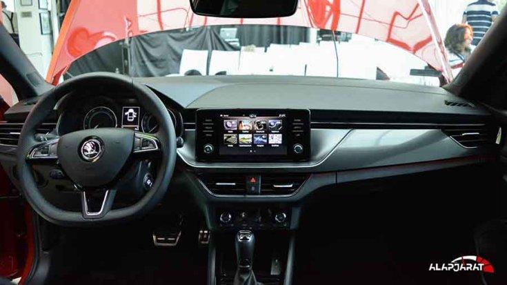 2019-es Škoda Scala műszerfal