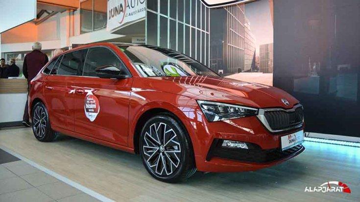 2019-es Škoda Scala oldalról