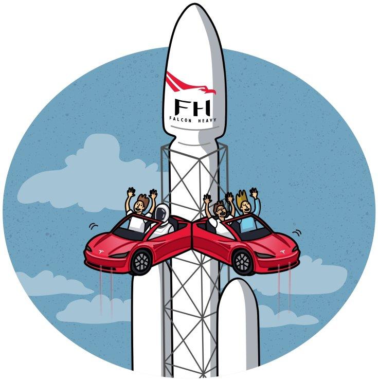 SpaceX rakétakilövő