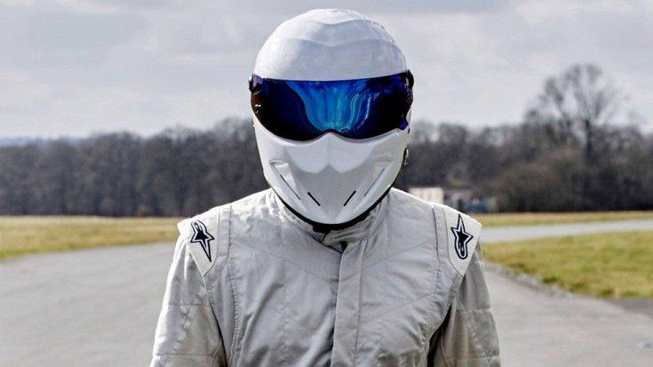 """""""A Stig"""" a Top Gear tévéműsorból"""