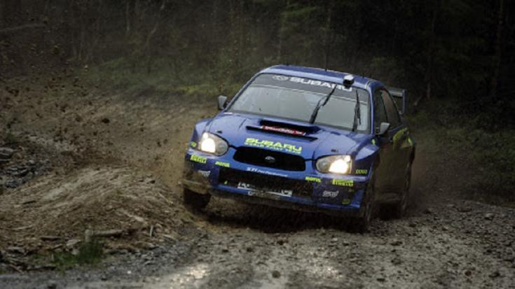 Subaru Impreza WRX STi rali