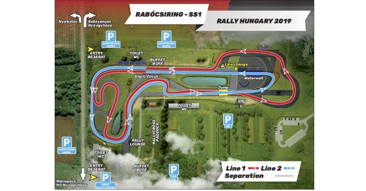 2019 Rally Hungary FIA ERC Rabócsi Ring Superspeciál