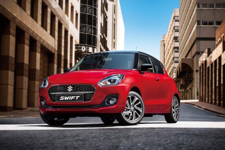 Suzuki Swift szemből