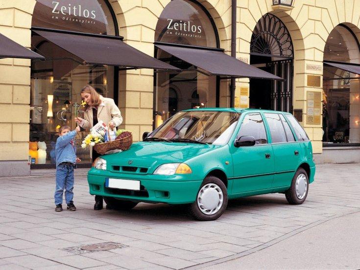 Suzuki Swift elölről