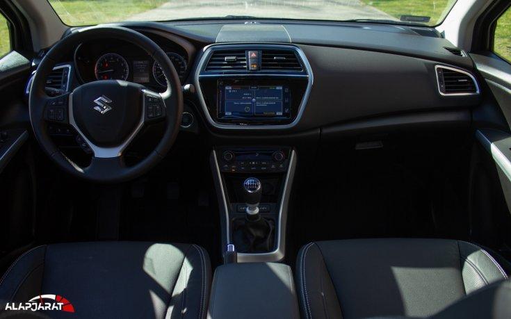 Suzuki SX4 S-Cross Hybrid teszt