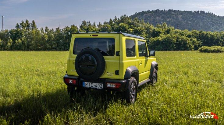 Suzuki Jimny AT teszt alapjárat