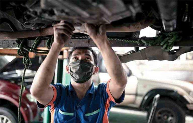 szakszervizes autóátvizsgálás