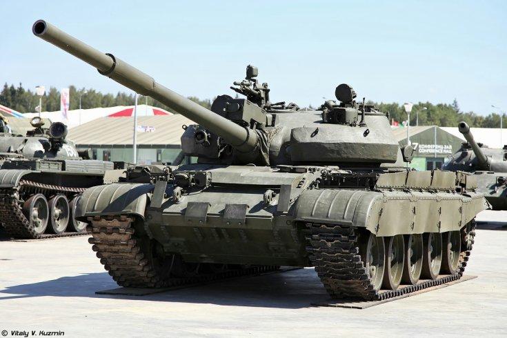 T62 harckocsi, telephelyen