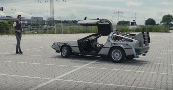 a távirányítós DeLorean DMC-12