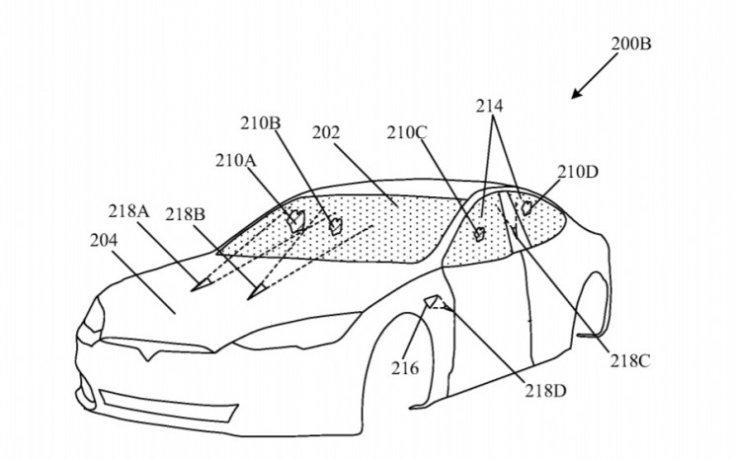 Tesla lézeres ablaktörlő szabadalom