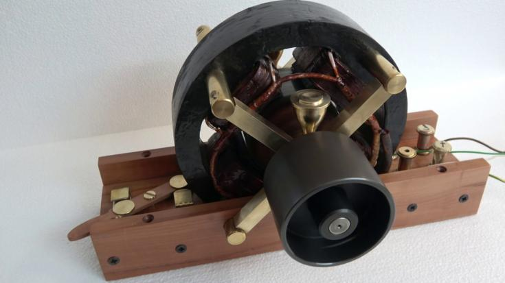 Nikola Tesla AC motorja