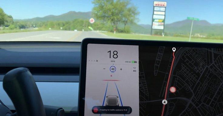 A Tesla Autopilot lelassít a Burger King emblémája miatt