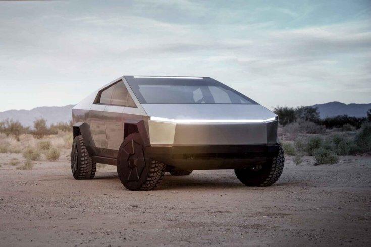 Tesla Cybertruck elölről