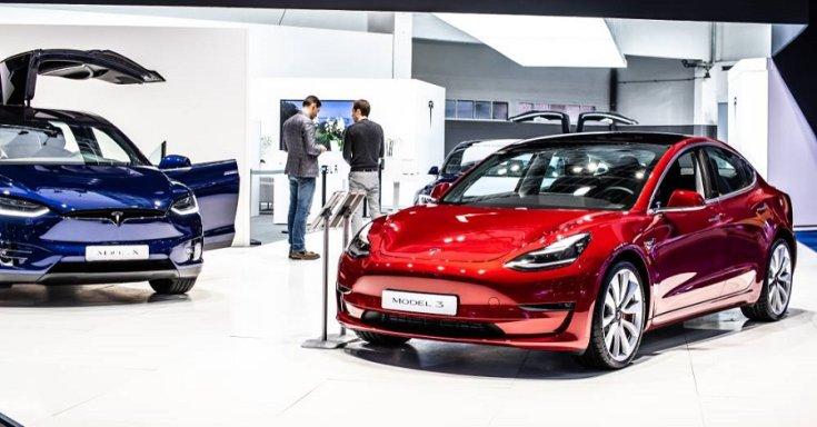 Tesla kereskedés