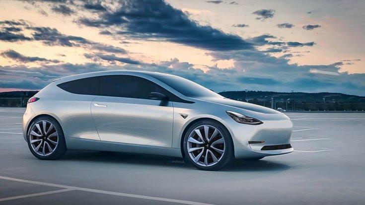 25 ezer dolláros Tesla szemből – látványterv