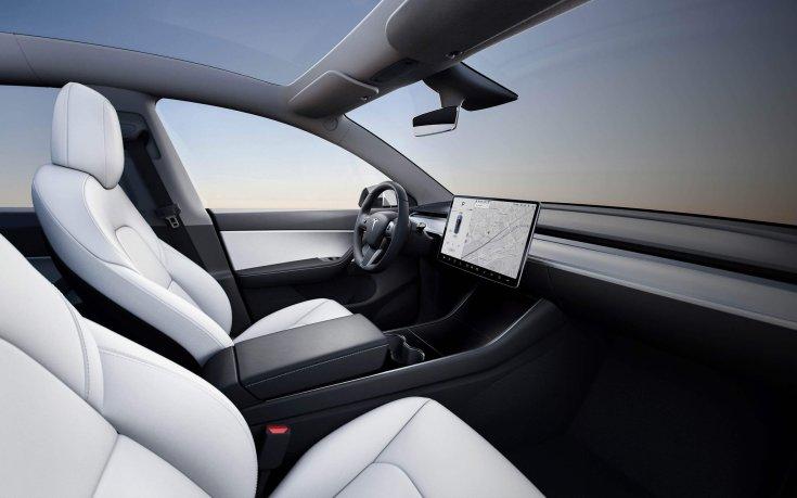 Tesla Model Y beltér