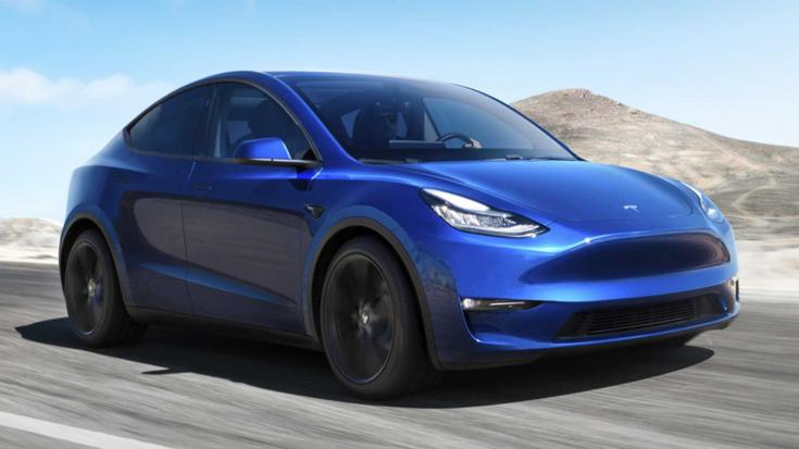 Tesla Model Y elölről