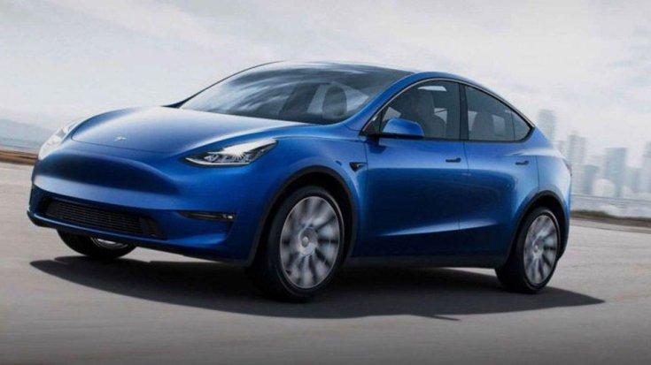 Tesla Model Y elektromos autó