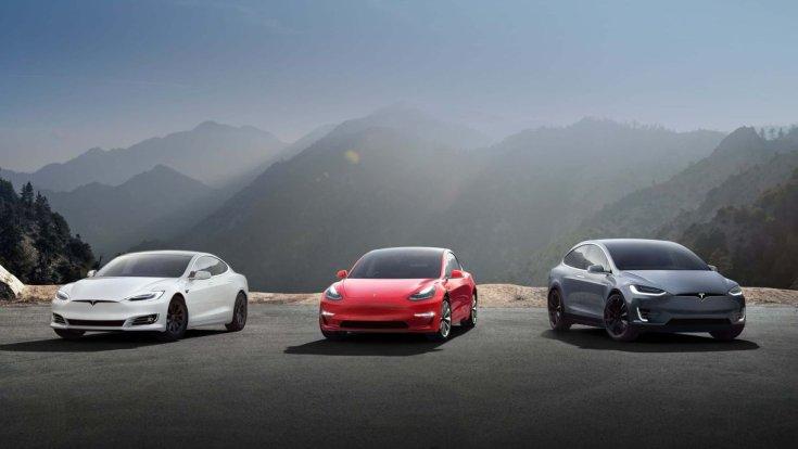 Tesla modellkínálata 2019
