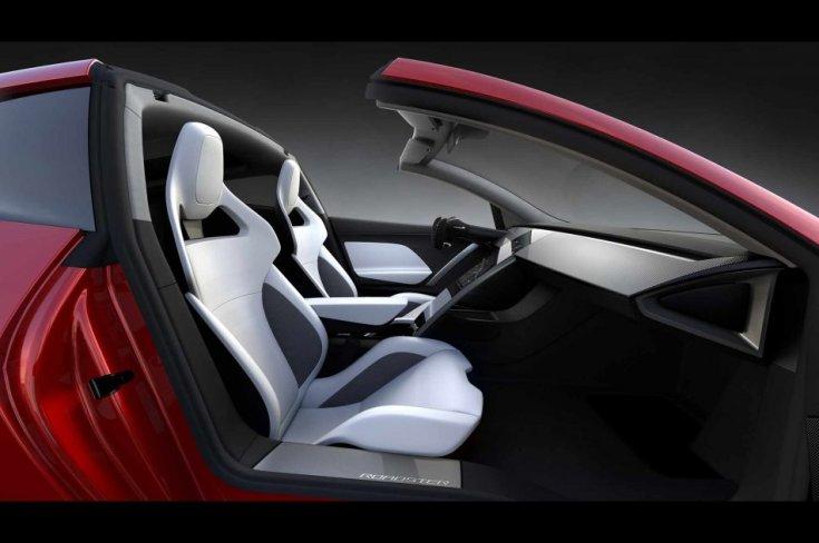 Tesla Roadster 2020 beltér