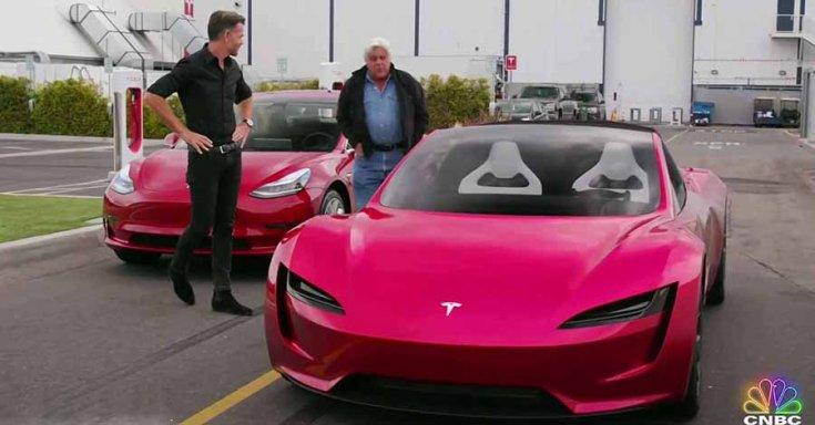 Jay Leno és a Tesla Roadster