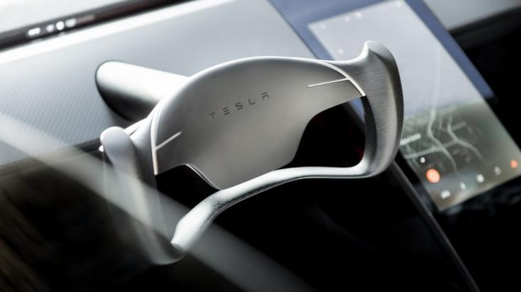 Tesla Roadster 2020 kormány