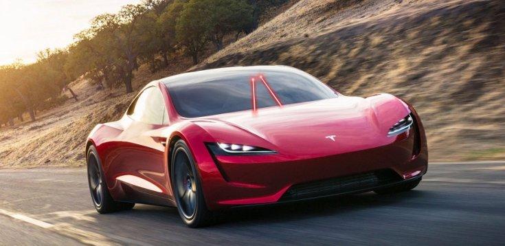 Tesla Roadster lézeres technológiával tisztít szélvédőt