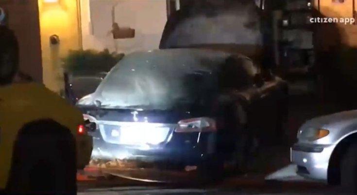 Tesla tűz San Franciscóban