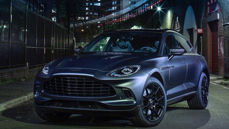 Az Aston Martin DBX SUV különleges kiadása